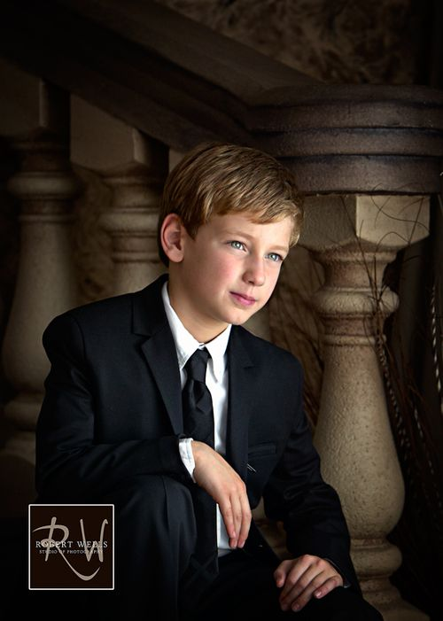 First-holy-communion-portrait-boy-robert-wells