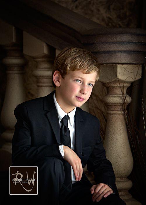 First-holy-communion-portrait-boy-robert-wells