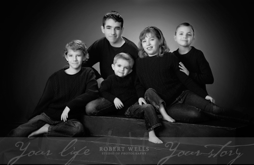 Sheppard-grand-children-black-and-white