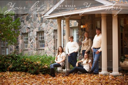 Robert-Wells-fall-family-portrait